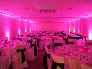 Uplighting & Uplighting | Syracuse Party Rentals Syracuse Tent Rentals | Able ...