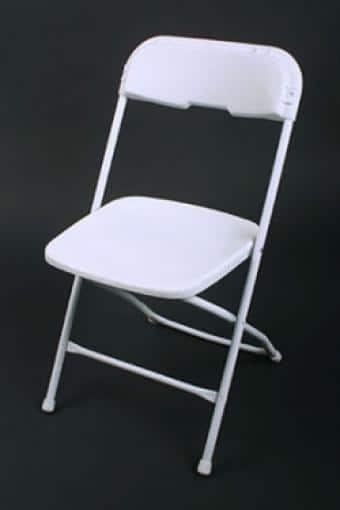 basic folding chairs | syracuse party rentals syracuse tent