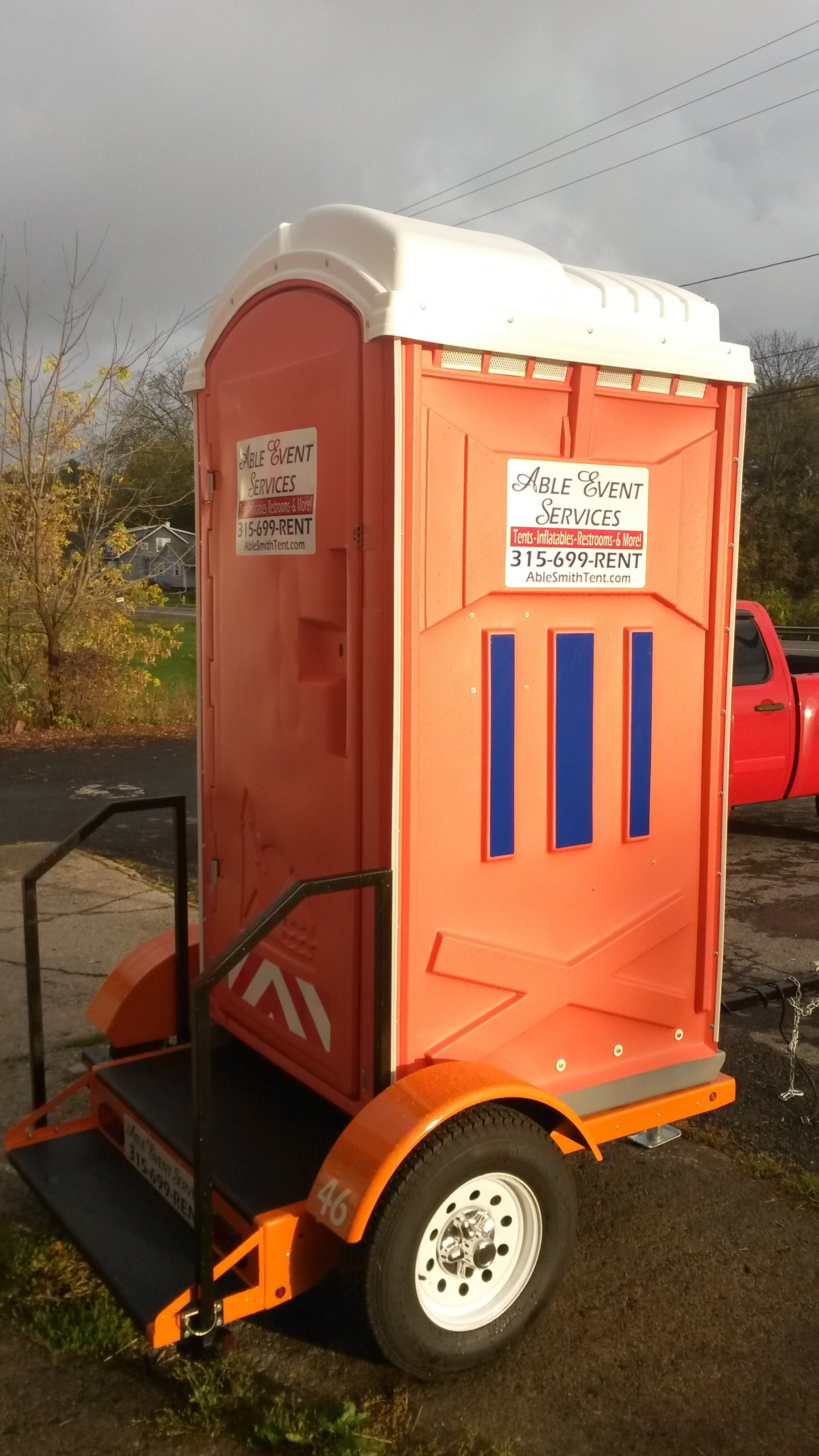 Restroom Rentals. Porta Potty Able Smith Tent & Restroom Rentals | Syracuse Party Rentals Syracuse Tent Rentals ...